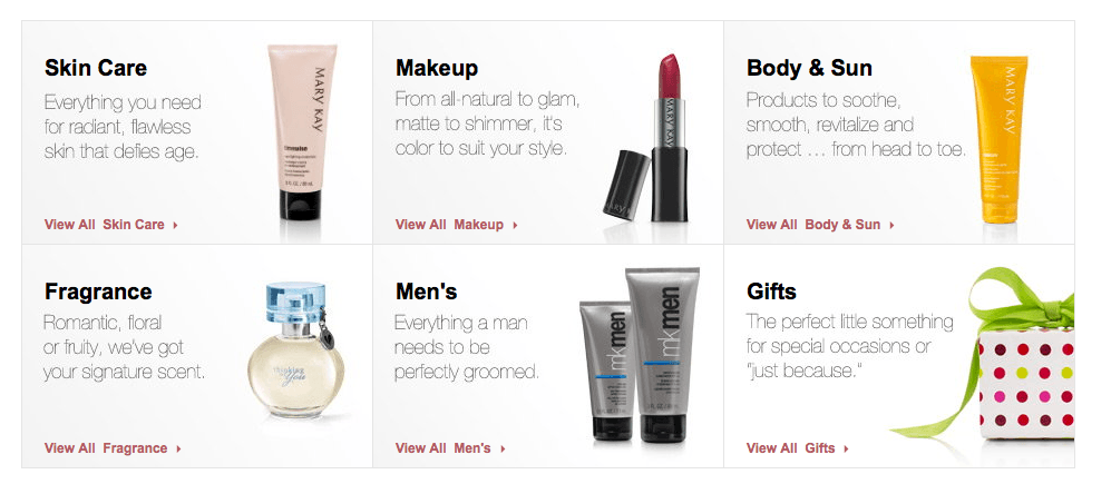 articles about mary kay cosmetics