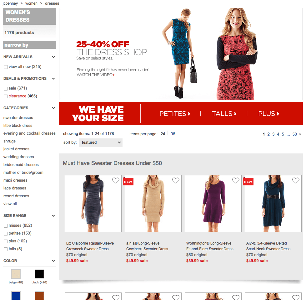 JCPenney has a range of fantastic deals available on clothing, homeware, furniture and more so you can shop well-known brands at great discounted prices. With free shipping offers, discount codes and Cash Back through specialtysports.ga, you can outfit yourself and your home for less.