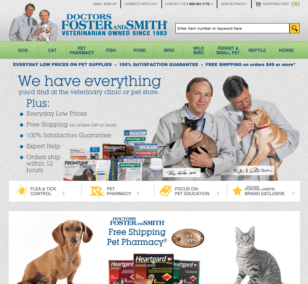 Doctors foster and smith coupon code